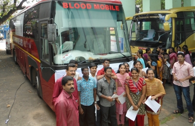 Voluntary Blood Donation Camp
