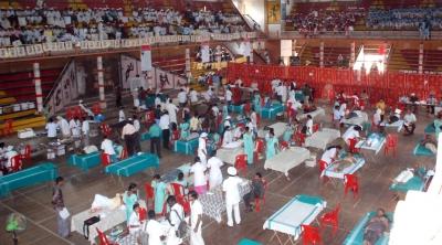 Mega donation camp held at  Thrissur1