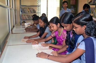 library at cheruvakkal school