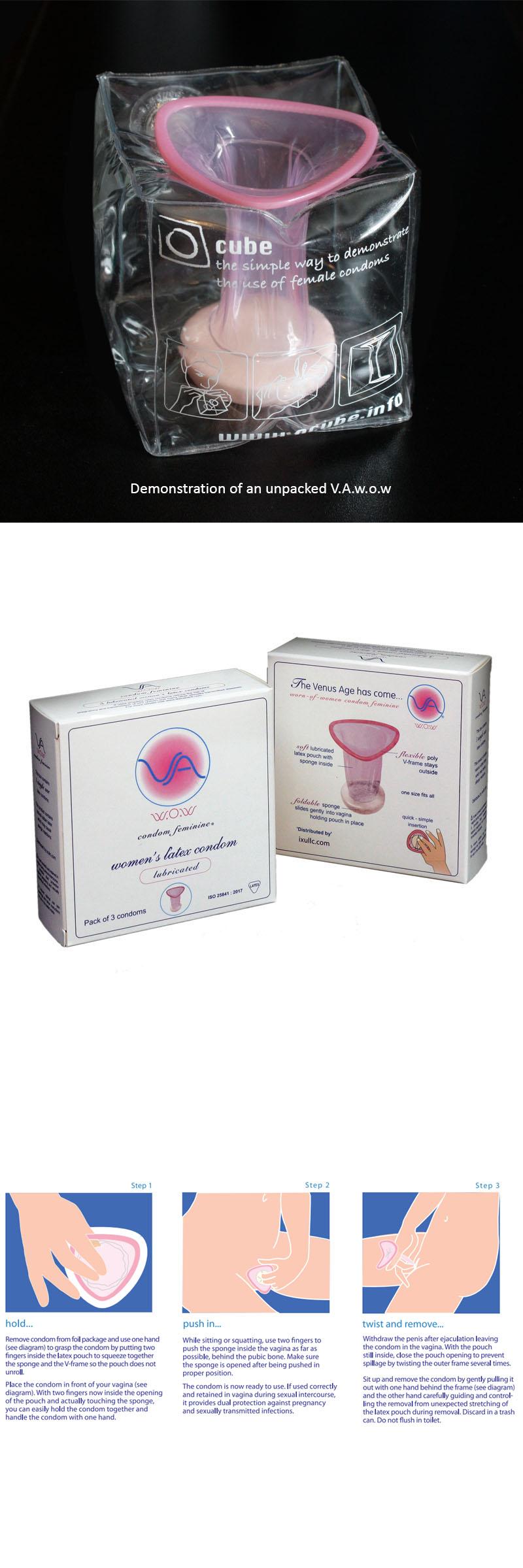 VA WoW Female condom
