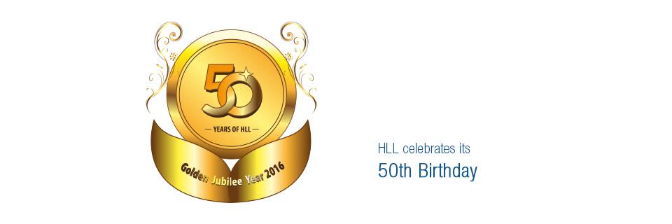 HLL Celebrates 50th Year