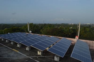 Solar Plant at AFT