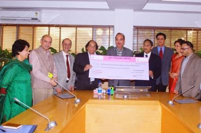 HLL pays Rs. 233 Lakh as Dividend to the Government of India