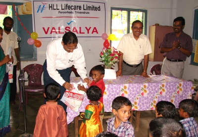 Distributing Books, bags and other teaching aids to students of LPS Oolampara, Thiruvananthapuram